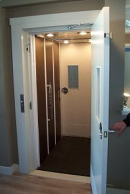 Affordable mobility elevators for your home for Cheap home elevators